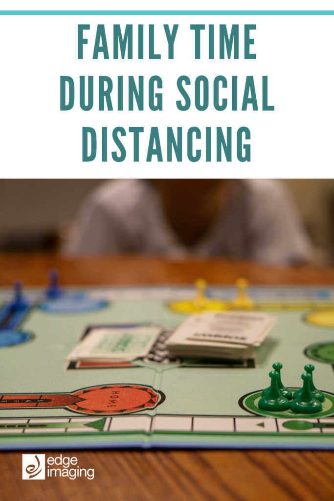 Social distancing is the responsible choice to help slow the spread of COVID-19. Use this as an opportunity to spend quality time with your family! Here are a few of our favourite ideas.