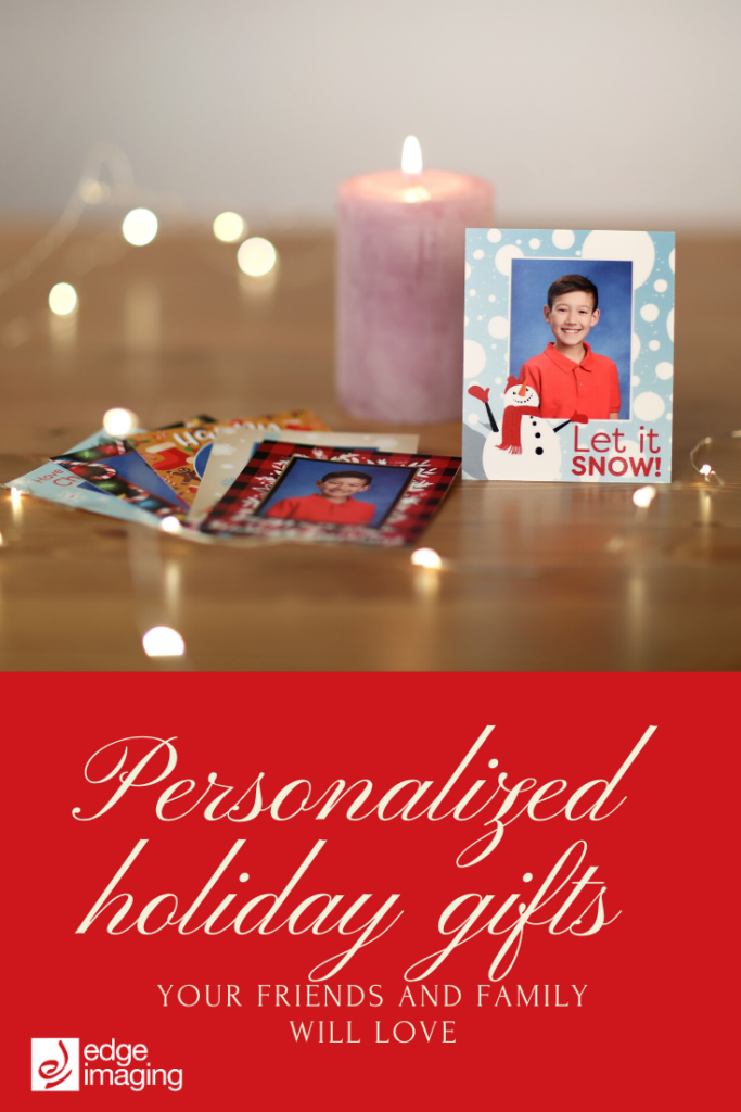 Personalize your holiday gifts this year and get inspiration for unique holiday presents using school pictures.