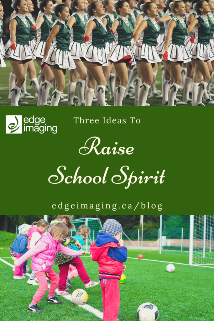 Raise school spirit with 3 of our fave ideas - no cheerleaders necessary :)